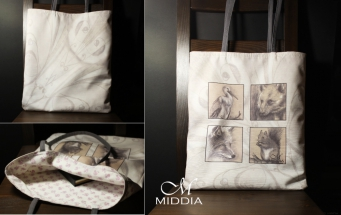 Middia Lenormand shopping bag